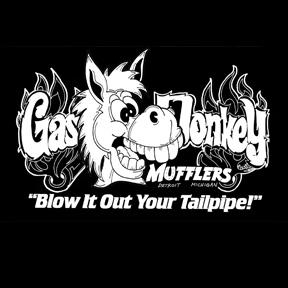 Gas donkey mufflers
