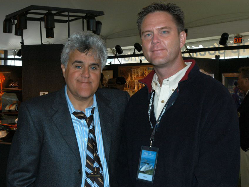 Tim With Jay Leno